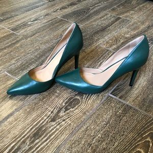 Banana Republic Emerald Green Heels